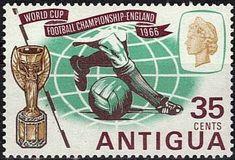 Francobollo: Jules Rimet Cup (Antigua e Barbuda) (Mondiali di calcio) Mi:AG 153,Sn:AG 164