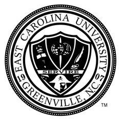 ECU - East Carolina University Pirates seal