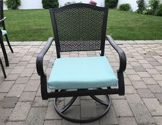 5 Ways to Remove Mold & Mildew From Outdoor Cushions - Prudent Reviews Cleaning Outdoor Cushions, Outdoor Chair Cushions, Patio Chairs, Outdoor Fabric, Outdoor Chairs, Outdoor Decor, Outdoor Ideas, Remove Mould From Fabric, Remove Mold