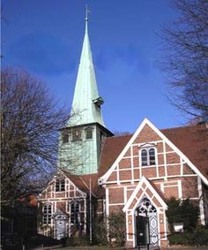 Hamburg/ Bergedorf: Kirche St. Petri und Pauli