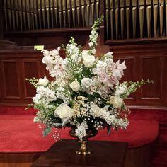 Wedding ceremony arrangement by Flower Bar. #atlantaflorist #atlantawedding flowerbar@gmail.com atlantaflowerbar.com Wedding Ceremony, Reception, Flower Bar, Cake Flowers, Atlanta Wedding, Wedding Flowers, Floral Wreath, Wreaths, Instagram Posts