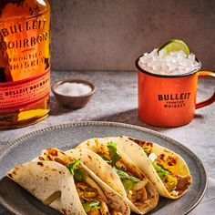 Enjoy this simple spin on the classic moscow mule recipe with our Bulleit Bourbon! Kentucky Mule, Bulleit Bourbon, Moscow Mule Recipe, Whiskey Drinks, Spin, Lime, Classic, Ethnic Recipes, Easy
