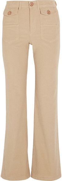 See by Chloé - Corduroy Flared Pants - Beige