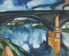 From 1925 he traveled throughout France, but continued to paint primarily along the Seine, near Paris