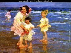 Cold Feet - Edward Henry Potthast - www.edwardhenrypotthast.org