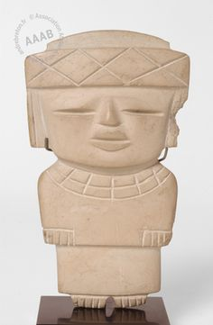 STATUETTE ANTHROPOMORPHE - TEOTIHUACAN, MEXIQUE - -450 ET 650 -