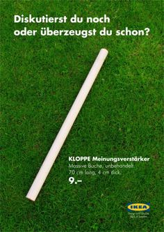 "Guerilla-Marketing Blog - Guerilla-Marketing nach Schwedenart: Mit ""Kloppe"" zum Erfolg"