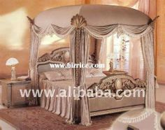 36 Fatal European Home Decor Chateaus Canopy Bed Drapes, Canopy Bedroom Sets, Luxury Bedroom Sets, King Bedroom Sets, Luxurious Bedrooms, Canopies, Royal Bedroom, Dreams Beds, European Home Decor