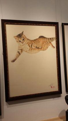 Cat by Yukio Takahashi