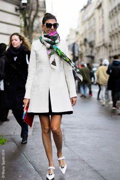 Paris – Giovanna Battaglia. Photo © Wayne Tippetts