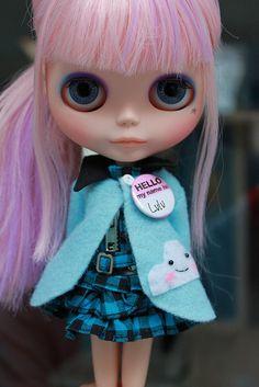 Lulu Blythe Doll by TachaDoll  #doll #blythe