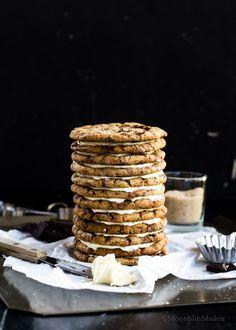 Pistachio fudge chunky cookie cake with Sea salt butter cream