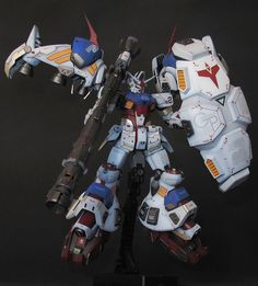1/144 RX-78 GP02A Gundam \'Physalis\' - Customized Build