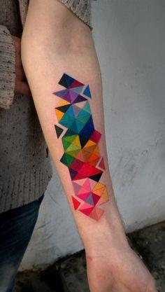 Modèles Géométriques Colorés
