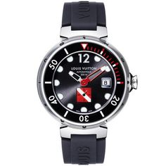 Louis Vuitton watch: Tambour Diving II Extra-Large Black
