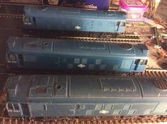 25 247 BRBlue by Hornby (no16) next to No.15 & no.1 Acquired 29/10/15 from evilBay
