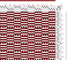 Hand Weaving Draft: Figure 26, Narrow Woven Fabrics, Emmanual Anthony Posselt, 4S, 4T - Handweaving.net Hand Weaving and Draft Archive