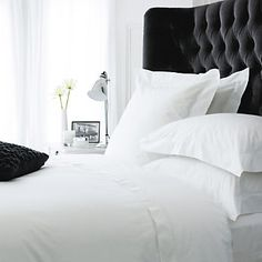Savoy duvet cover, from The White Company