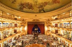 The story of Librería El Ateneo Grand Splendid: From a movie palace to a book temple