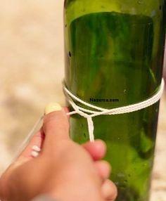 Hobi çalışmalarınızda kullanmak üzere Bir cam şişe ya da Şarap Şişesini nasıl keserim?Pratik Cam Kesme yöntemi nedir? İple Cam Şişe Nasıl Kesilir tüm bu soruların cevabı Resimli anlatımlı olarak bu…