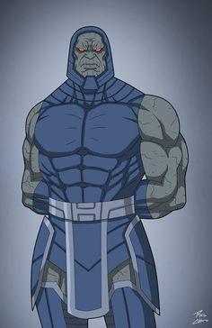 Darkseid (Earth-27) commission by phil-cho.deviantart.com on @DeviantArt