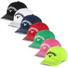 0c2e583834e The Callaway Lo Pro Cap has a structured design and is made of a cotton  twill material for comfort with contrast embroidered logo.