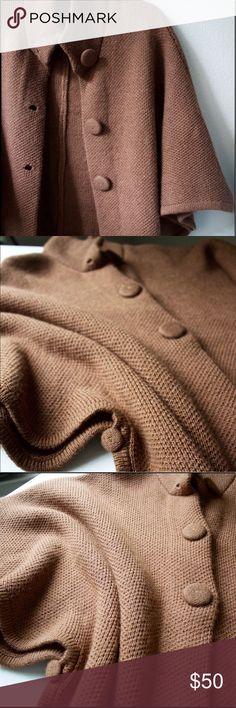 Selling this Arte Meche Alpaca (cardigan shrug cape) on Poshmark! My username is: xoyaya. #shopmycloset #poshmark #fashion #shopping #style #forsale #Arte Meche #Sweaters