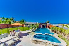 Villa Mar Vista - Spectacular 5 bedroom vacation home Oceanfront that sleeps 20 in Point Loma, San Diego CA (104853) | Find Rentals