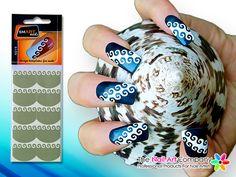 Smart nails dots nail art stencil set n038 nail art stencils smart nails spiral nail art stencil set n019 prinsesfo Images