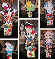 Ideas para Fiestas Infantiles de Jake y los piratas de nunca jamás ebb602d4bd5e4