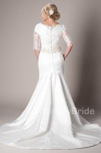 Modest Wedding Dresses : Remington. Repinning for the sleeves.