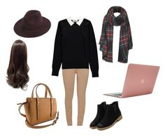 """Spencer Hastings ~ PLL ~"" by lilyfry ❤ liked on Polyvore featuring Barbour, Essentiel, Topshop and Incase"