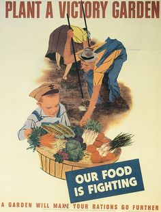 Poster encouraging Americans to grow more food at home