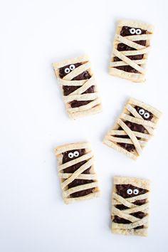 Chocolate Mummy Pop Tarts