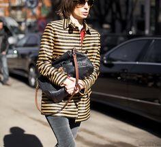 Streetstyle at Milan Fashion Week