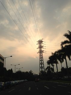 Sunset at senayan city, Jakarta