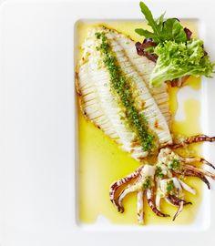 Ocha Japanese Restaurant's BBQ'd Calamari • Flavours of Urban Melbourne
