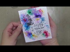 Unity Stamp Co Quick Tip  Color Burst Magic   Unity Stamp Co