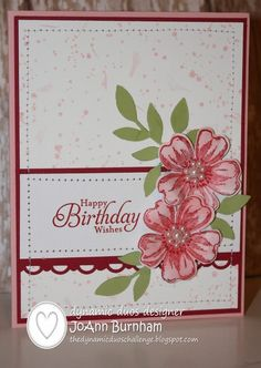 Happy Birthday Wishes for the Dynamic Duos - scalloped trim bgorder, pansy punch