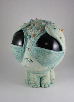 big-eyed monsters by Chris Ryniak