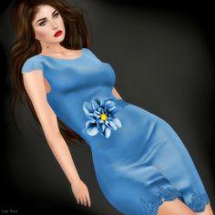 LORI NOVO: Feeling Blue in a Beautiful Way