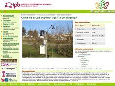 Clima na Escola Superior Agrária de Bragança