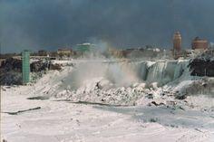 Thread: Niagara Falls Frozen!! (pic from 1911)