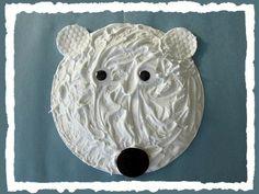 Puffy-Paint-Hibernating-Polar-Bear-Craft-for-Kids
