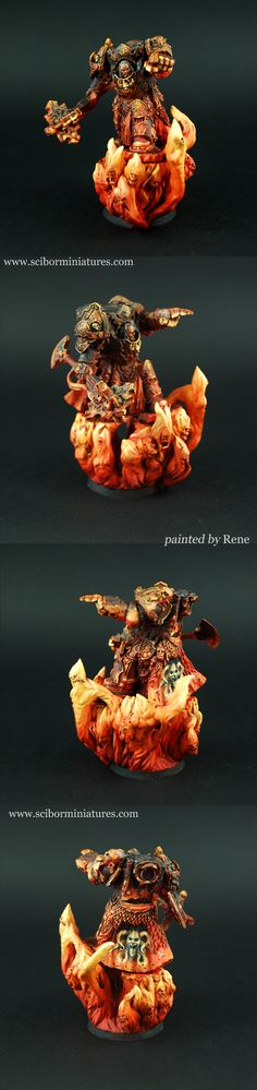 Wow, look at that OSL and that detail!!! Wish I could paint like that.