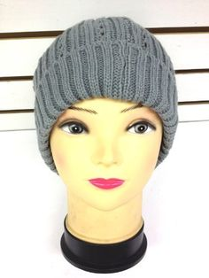 New Fashion Beanie Style Acrylic Hat for unisex - Gray Color by Urbandesign. $5.99. New Fashion Beanie Style 100% Acrylic Hat for unisex - Gray Color