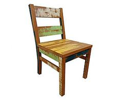 Cadeira rustic color - 43x90cm