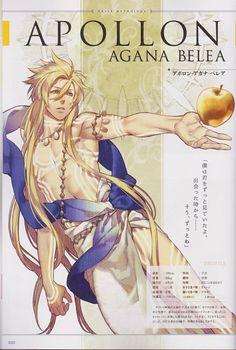 Apolo dios grigo de la belleza masculina, del arte, de la lira, de la clarividencia, del tiro al arco y en algunas versiones dios del sol
