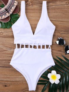 SHARE & Get it FREE   Ladder Cut One Piece SwimsuitsFor Fashion Lovers only:80,000+ Items • New Arrivals Daily • Affordable Casual to Chic for Every Occasion Join Sammydress: Get YOUR $50 NOW!