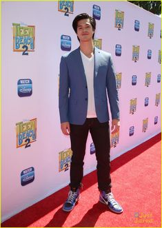Ross Butler at the premiere of Disney Channel's 'Teen Beach 2'